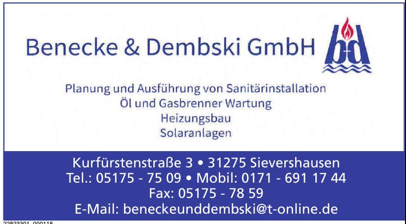 Benecke und Dembski GmbH