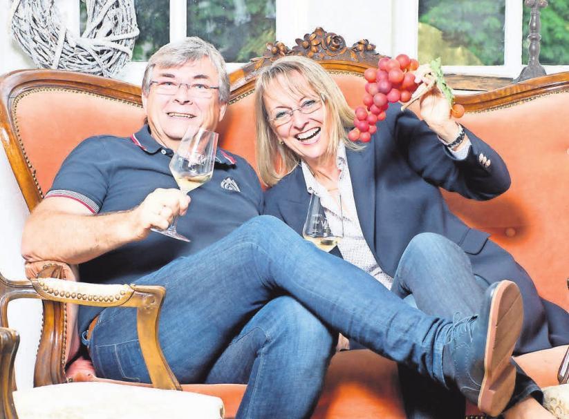 Machen Lust auf Wein: Klaus-Peter und Beate Rothärmel.
