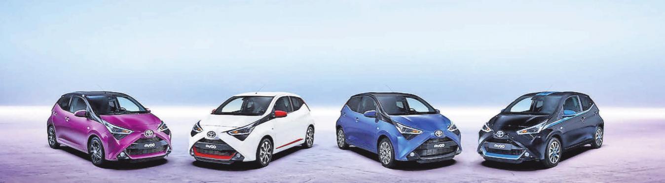 Ab Juni wird der neue Toyota Aygo im Autohaus Langenstrassen stehen.
