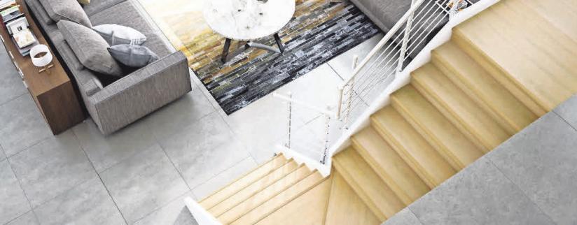 In nur einem Tag eine neue Treppe, die perfekt zum Einrichtungsstil passt – Portas Stufe-auf-Stufe-System macht es möglich.