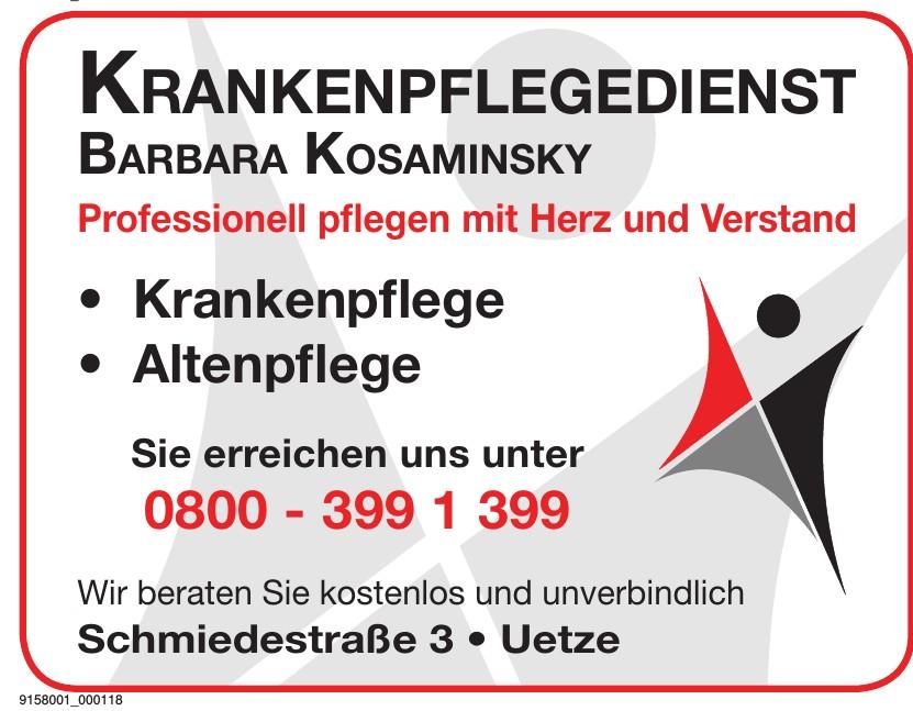 Krankenpflegedienst Barbara Kosaminsky