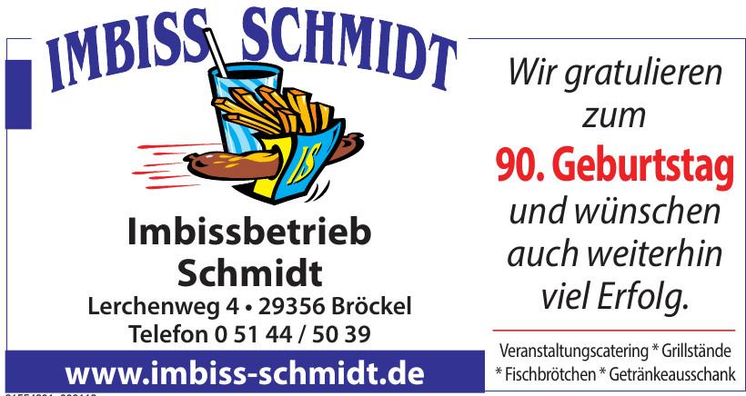 Imbissbetrieb Schmidt