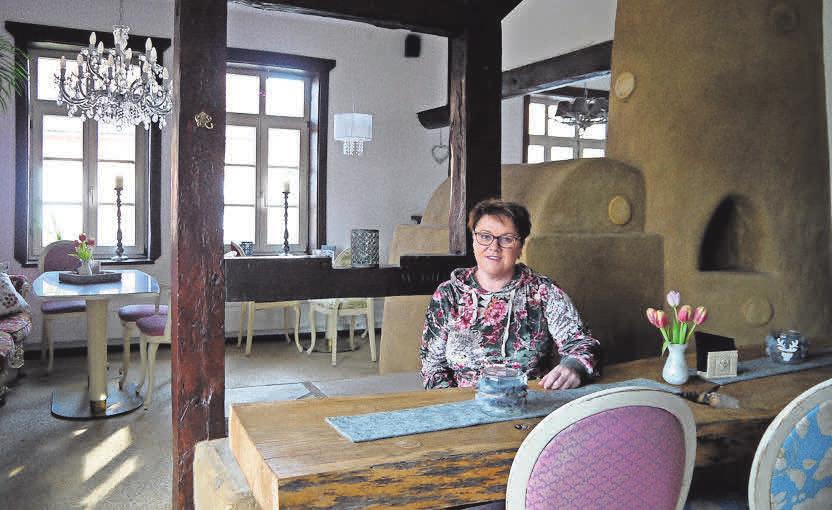 Legt viel Wert auf Gemütlichkeit und Qualität: Daniela Warnecke hat die Alte Backstube zum Leben erweckt.