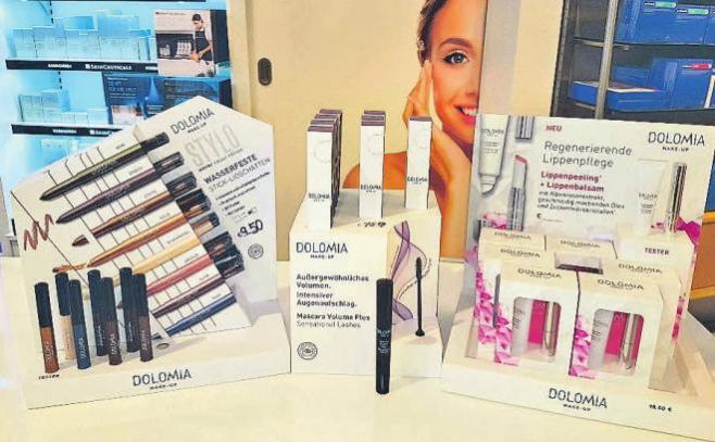 Besonders geeignet für empfindliche Haut: Die Make-up- Linie von Dolomia.