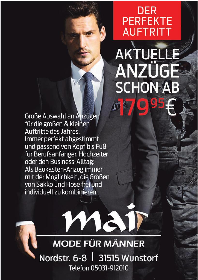 Mai - Mode für Männer