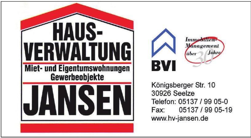 Haus-Verwaltung Jansen