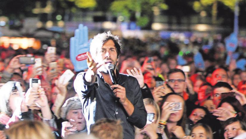 Der Shootingstar der deutschen Musikszene sucht die Nähe zu seinem Publikum.