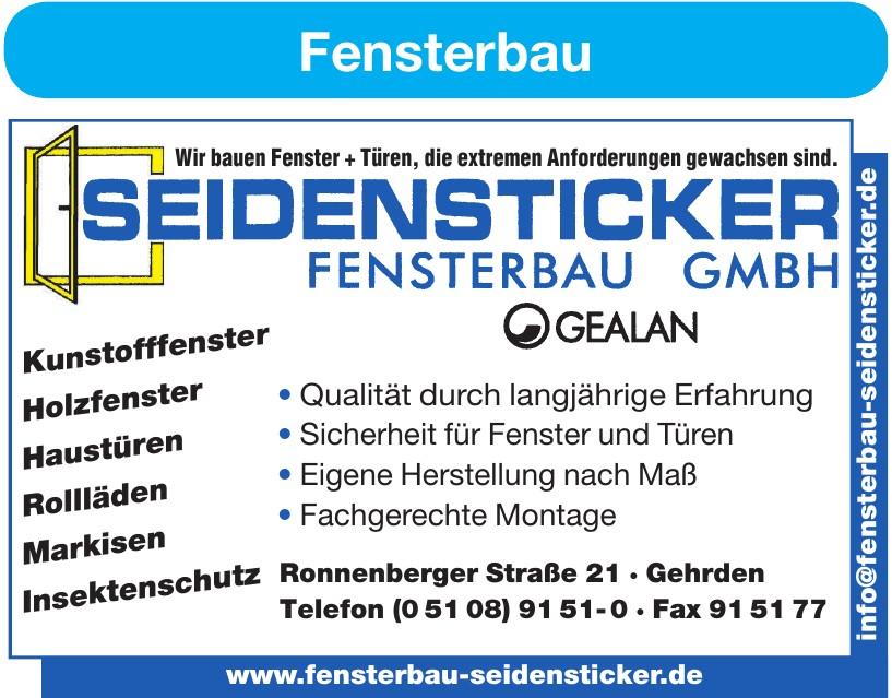 Seidensticker Fensterbau GmbH