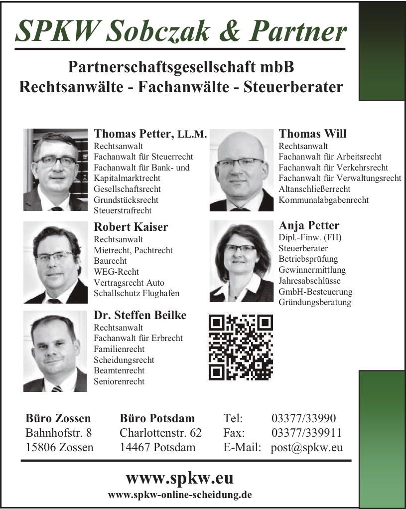 SPKW Sobczak & Partner Partnerschaftsgesellschaft mbB