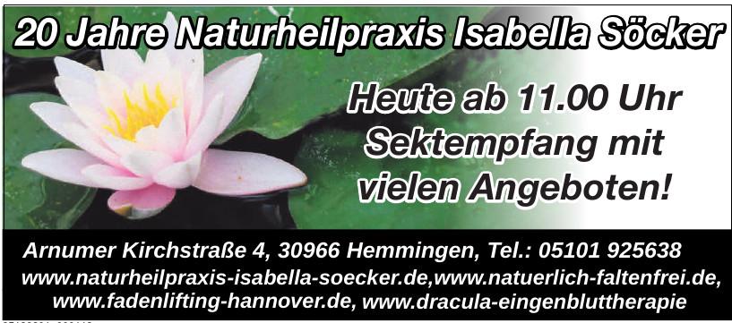 Naturheilpraxis Isabella Söcker Heilpraktiker