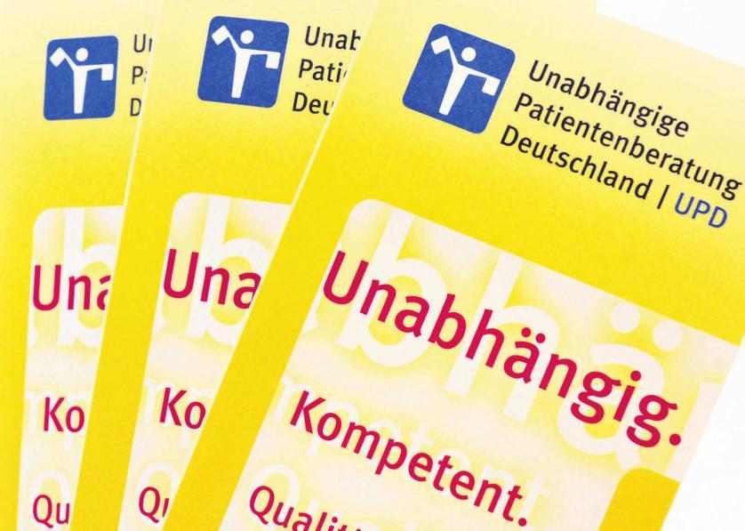 Die unabhängige Patientenberatung ist wieder stark gefragt. FOTOS: DPA