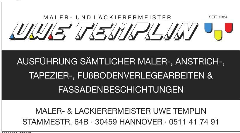 Uwe Templin Maler- und Lackierermeister