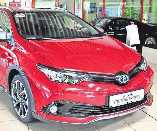 … der Toyota Yaris.
