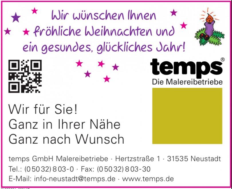 temps GmbH Malereibetriebe