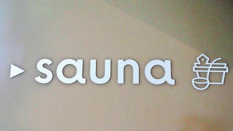 Zum Saunabereich gehören fünf moderne Saunen.