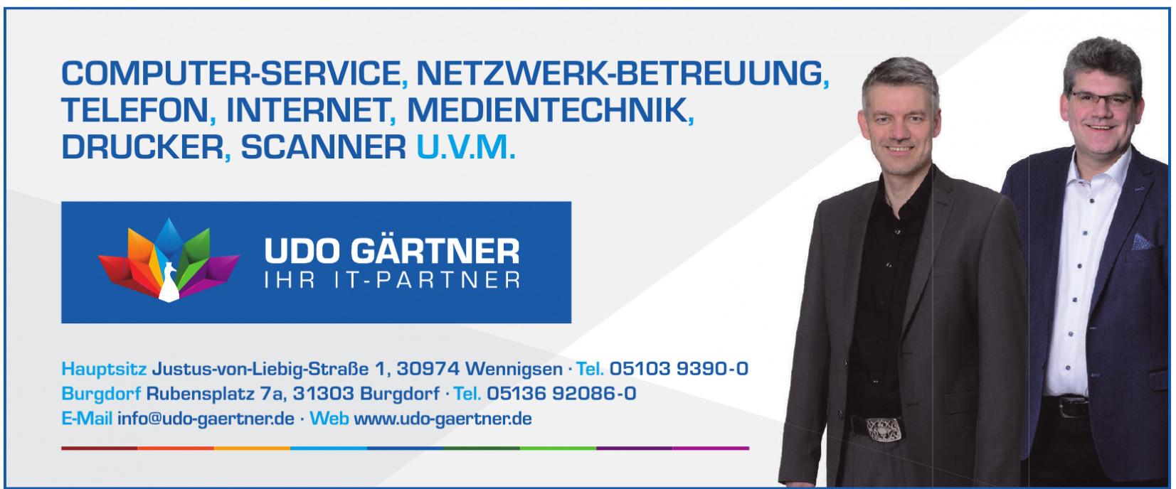 Udo Gärtner GmbH - Ihr IT-Partner