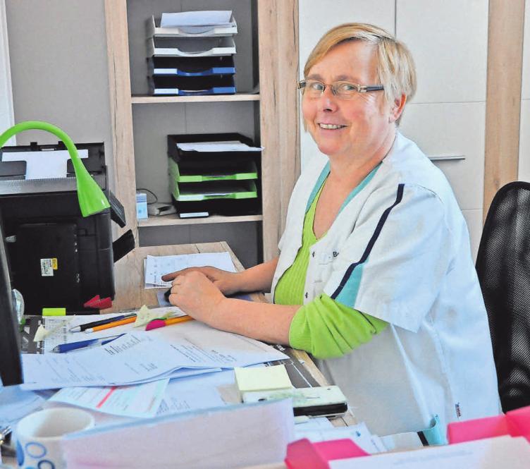 Engagiert: Viola Below leitet den Pflegedienst Zucker und damit ein Team von fachlich hoch qualifizierten Mitarbeitern.