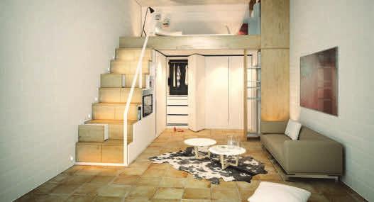 Kreative Möbel orientieren sich am Wohnumfeld der Kunden. Foto:Häfele
