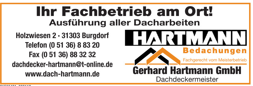 Gerhard Hartmann GmbH