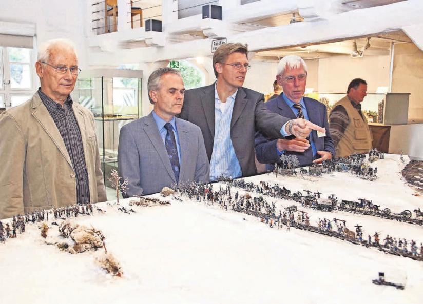 Die vom VVV betreute Burgdorfer Zinnfigurensammlung gilt als die größte Sammlung ihrer Art in kommunalem Besitz.