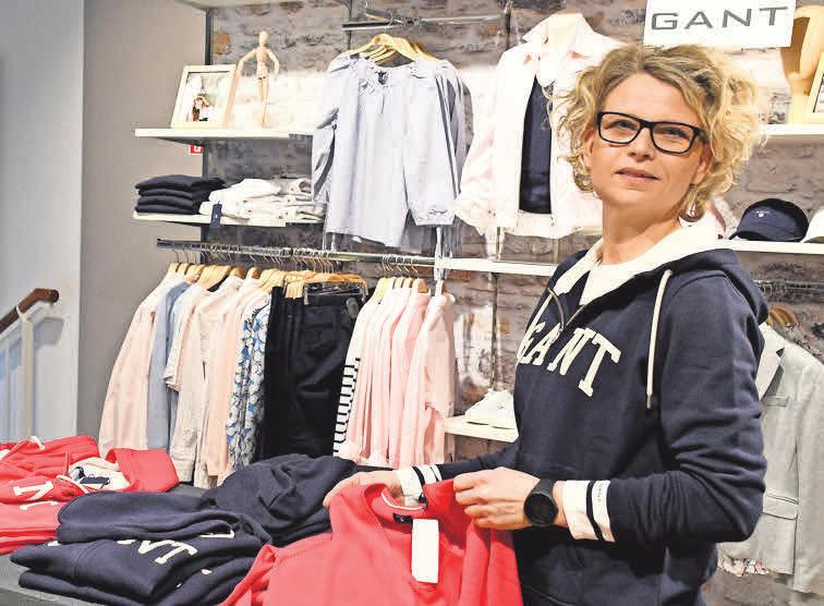 Christin Warlis mag den sommerlich-maritimen Stil der amerikanischen Ostküste, wie ihn die Marke GANT präsentiert.