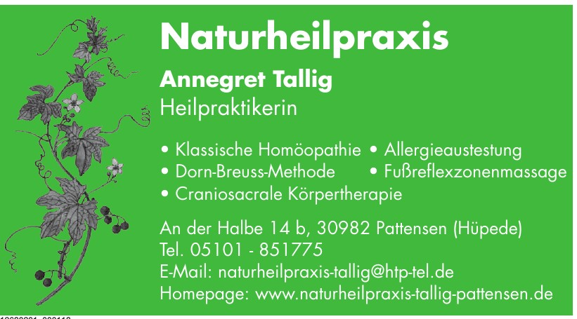 Naturheilpraxis Annegret Tallig