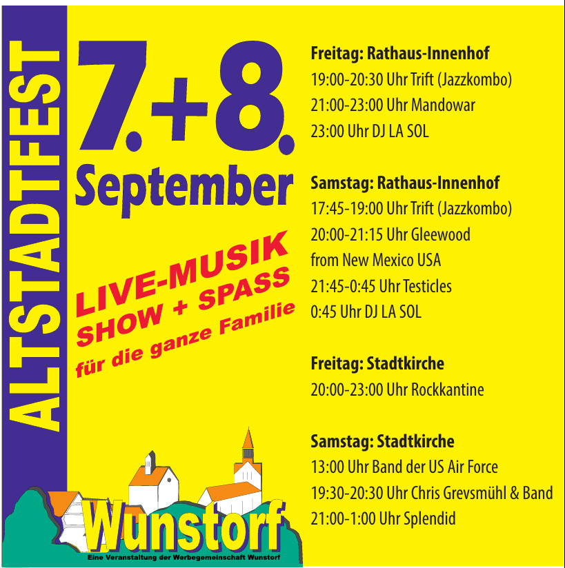 Werbegemeinschaft  Wunstorf