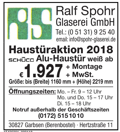 Ralf Spohr Glaserei GmbH