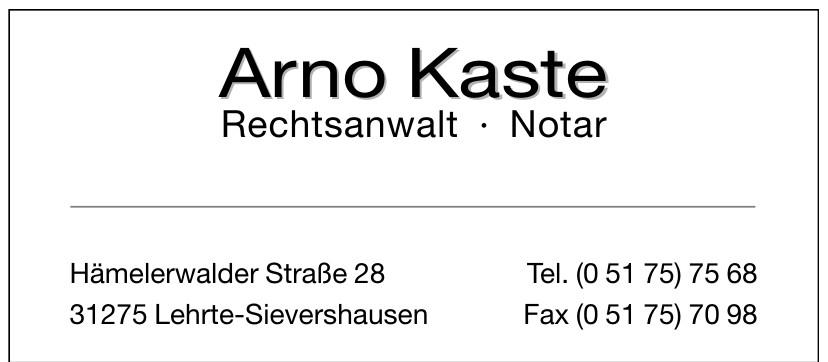 Arno Kaste