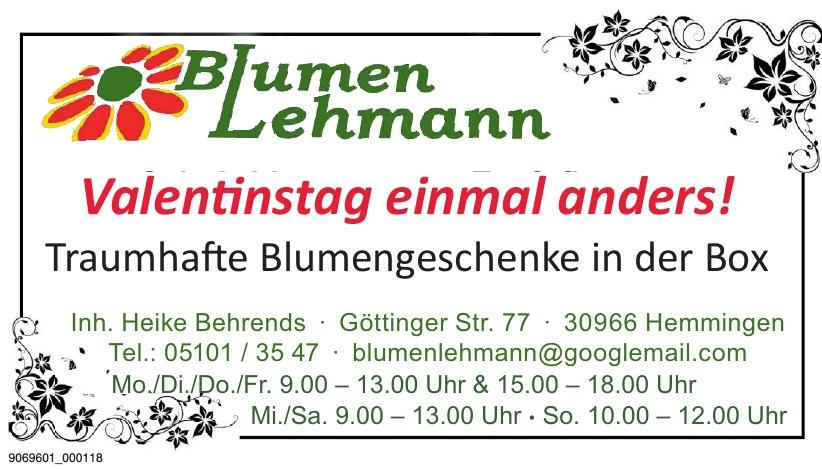 Blumen Lehmann