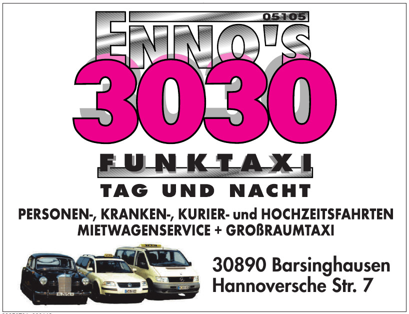 Enno´s 3030 Funktaxi