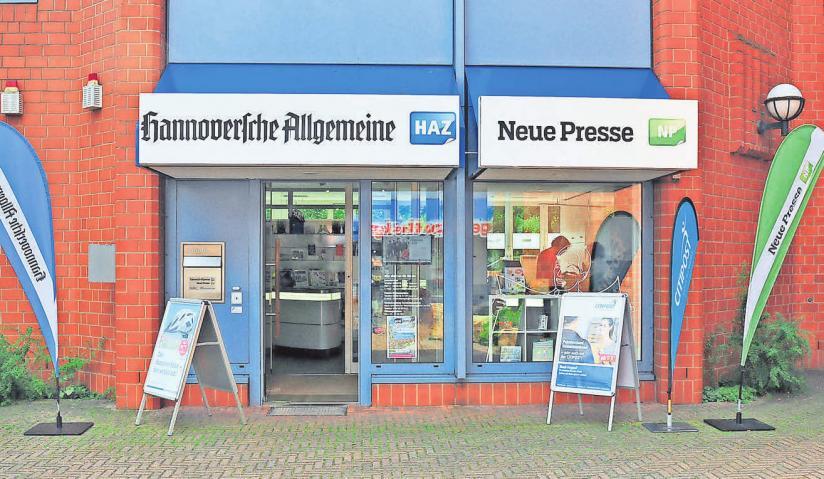 Geöffnet ist die Geschäftsstelle von HAZ/NP an der Albert-Schweitzer– Straße 1 montags bis freitags jeweils von 9 bis 18 Uhr.Foto: Stephanie Zerm