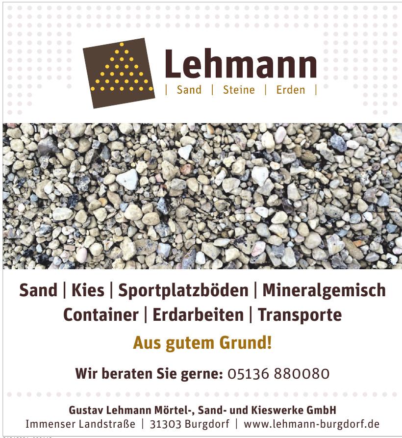 Gustav Lehmann Mörtel-, Sand- und Kieswerke GmbH
