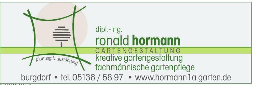 Gartengestaltung Ronald Hormann