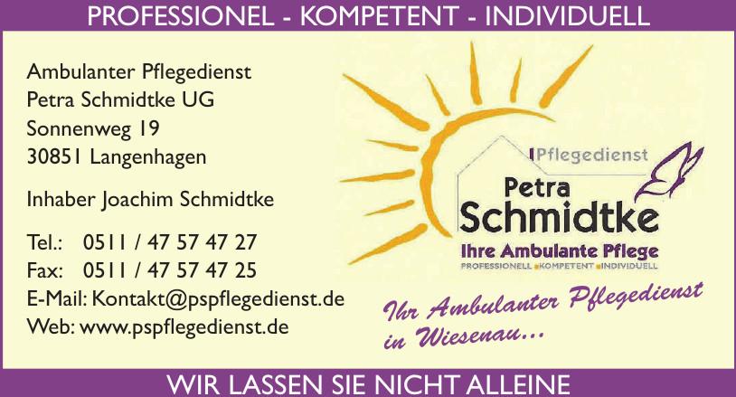 Ambulanter Pflegedienst Petra Schmidtke UG
