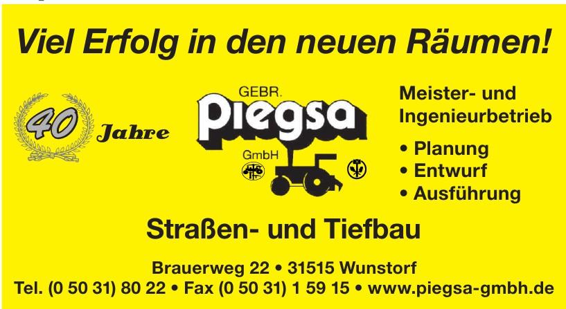 Piegsa Straßen- und Tiefbau GmbH