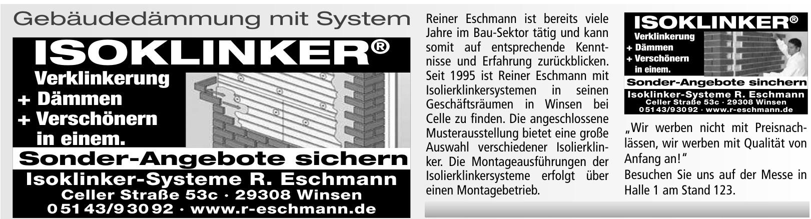 Isoklinker-Systeme R. Eschmann