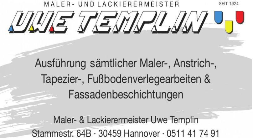 Maler- und Lackiermeister Uwe Templin
