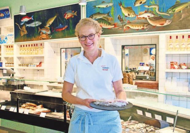 Katrin Frisch empfiehlt als Zutat für die gesunde Herbstküche frisches Rotbarschfilet.