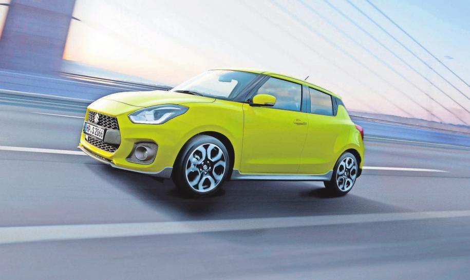 Im Juni kommt der neue Suzuki Swift Sport auf den Markt.