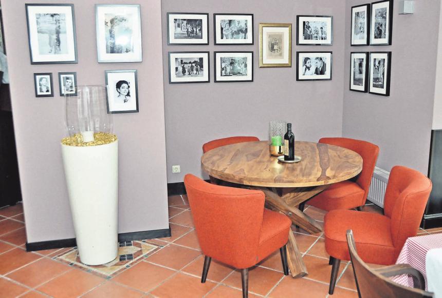 Das Elio bietet ein gemütliches Ambiente, wo man vorzüglich speisen und leckere Weine genießen kann.