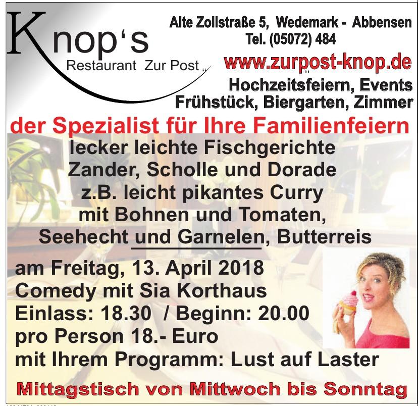 Knop's  Restaurant