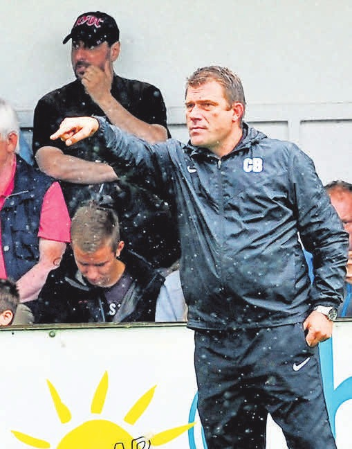 Da geht es lang: Christian Benbennek ist seit dieser Saison wieder Trainer des TSV Havelse.