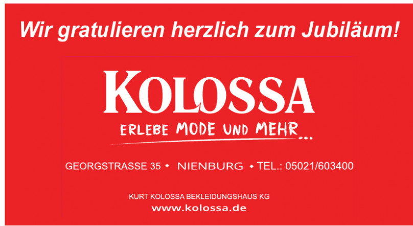 Kurt Kolossa Bekleidungshaus KG