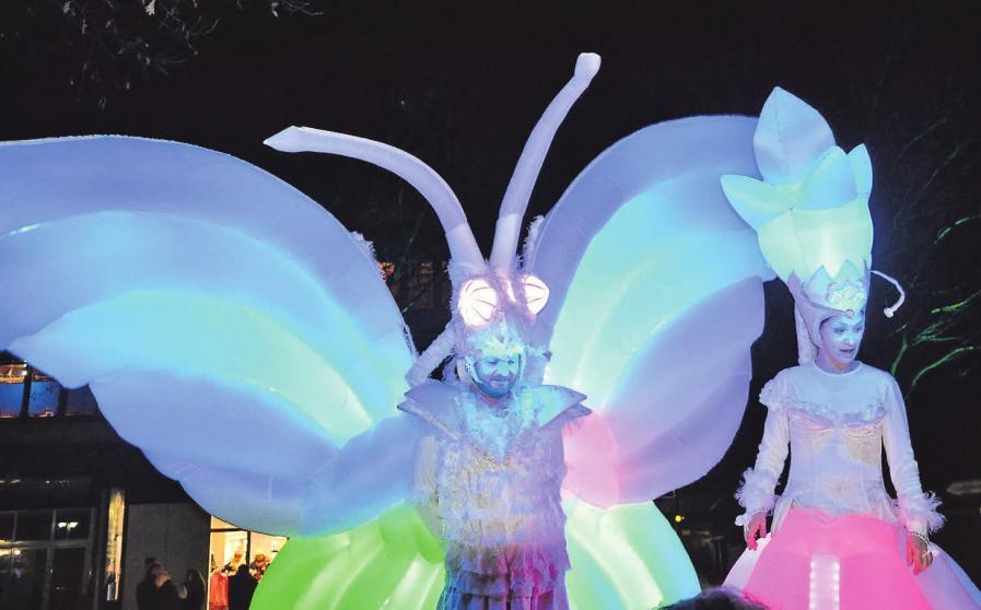 Mit vielen neuen Attraktionen lockt das Lichtermeer die Besucher in die illuminierte Innenstadt