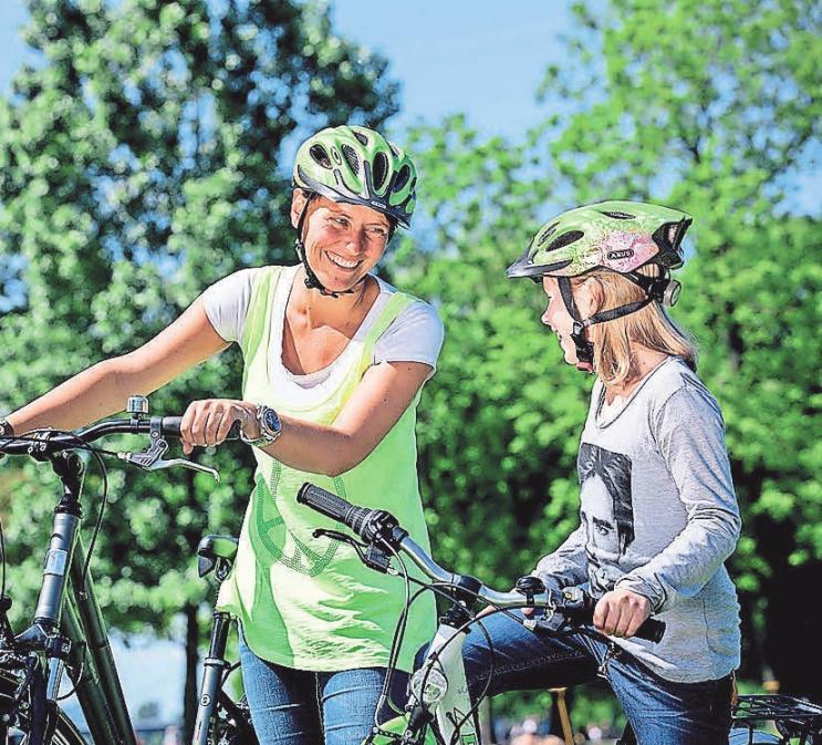 Muttertag bedeutet auch, Zeit miteinander zu verbringen. Foto: Pressedienst Fahrrad