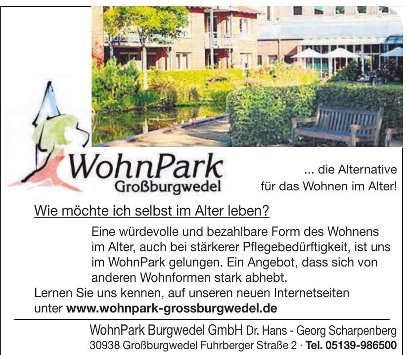 WohnPark Burgwedel GmbH Dr. Hans - Georg Scharpenberg