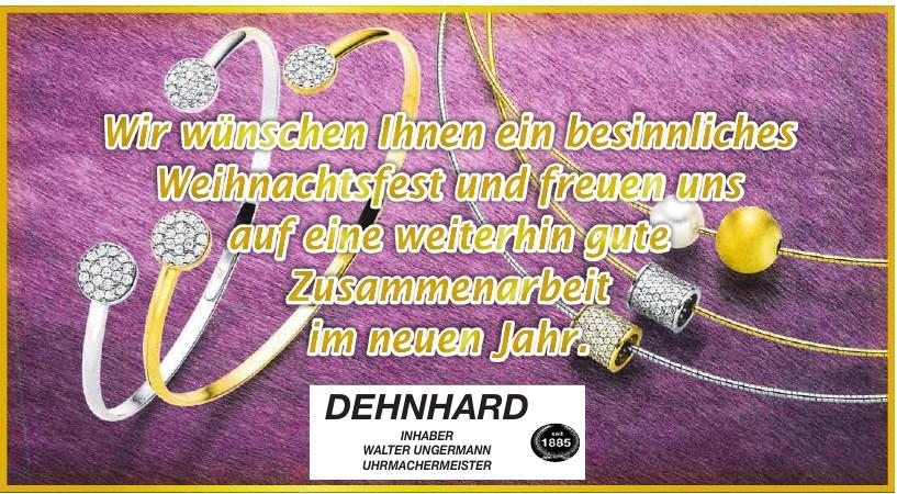 DEHNHARD Uhrmachermeister