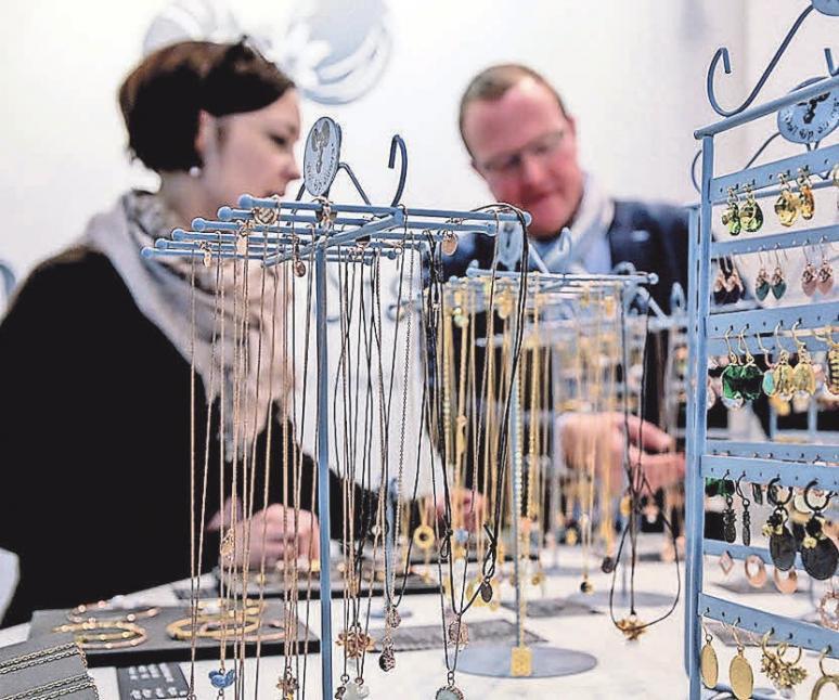 Schmuck ist auch zum Muttertag ein allseits beliebtes Geschenk! Foto: Messe Frankfurt Exhibition GmbH / Thomas Fedra