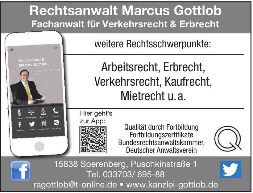 Rechtsanwalt Marcus Gottlob